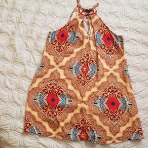 Bebop Bohemian slip style dress